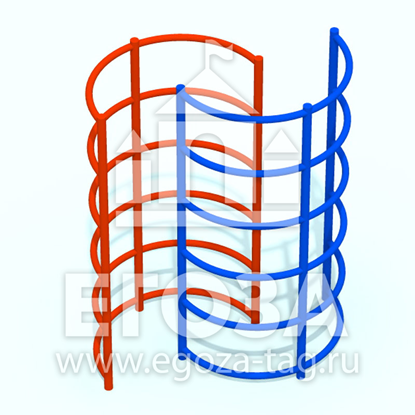 Изображение Спираль вертикальная 0419