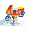 """Изображение Качалка на пружине """"Мотоцикл"""" 0801"""