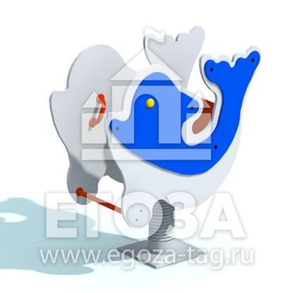 """Изображение Качалка на пружине """"Дельфин"""" 0802"""
