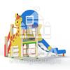 """Горка детская """"Жираф с кольцом"""" 0707"""