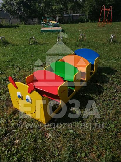 """Изображение Скамья """"Гусеница с рулями"""" 1224"""
