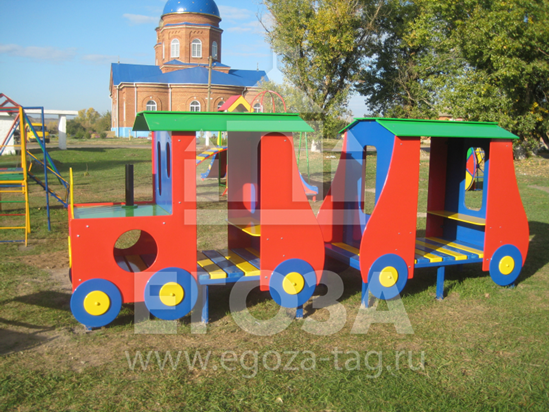 """Изображение Беседка """"Паровозик"""" 1206"""