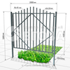 Металлический забор № 3