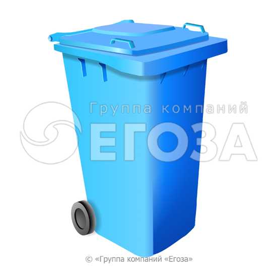 Изображение Евроконтейнер пластиковый 120л