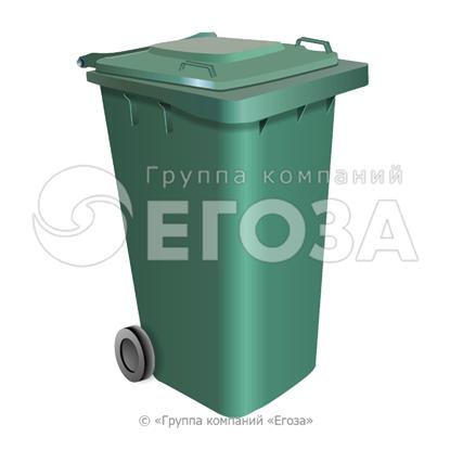 Изображение Евроконтейнер пластиковый 240л